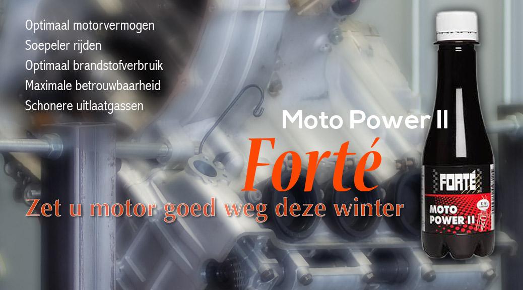 Forte II klaar voor de winter