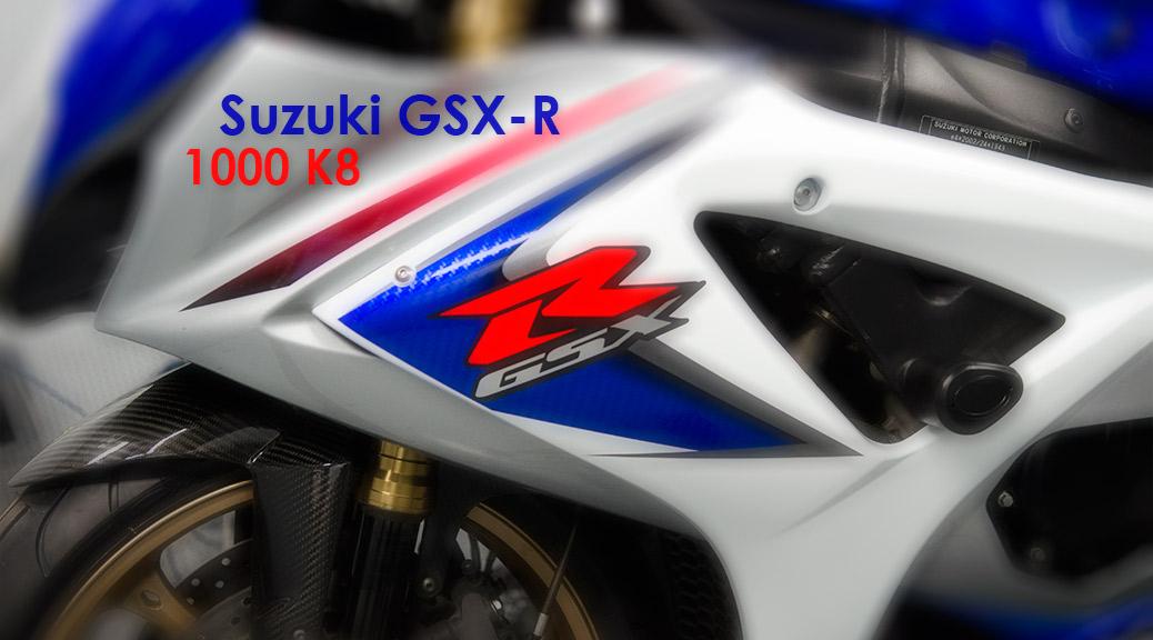 Suzuki GSX-R 1000 K8