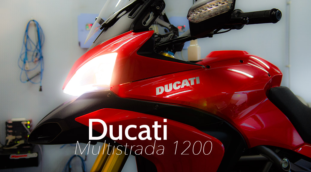 Ducat iMultistrada 1200 testrun