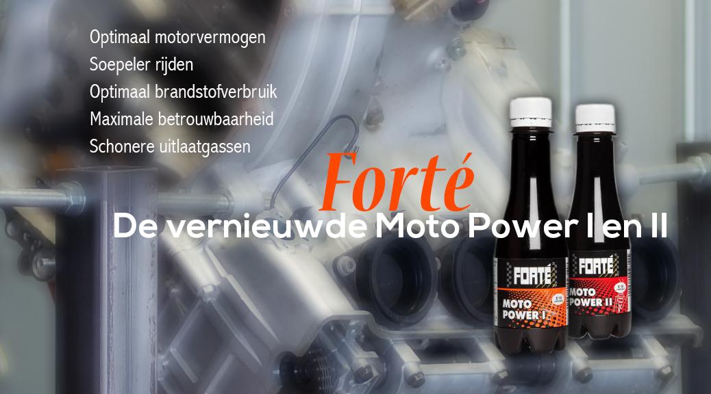 Forte I en II zijn vernieuwd
