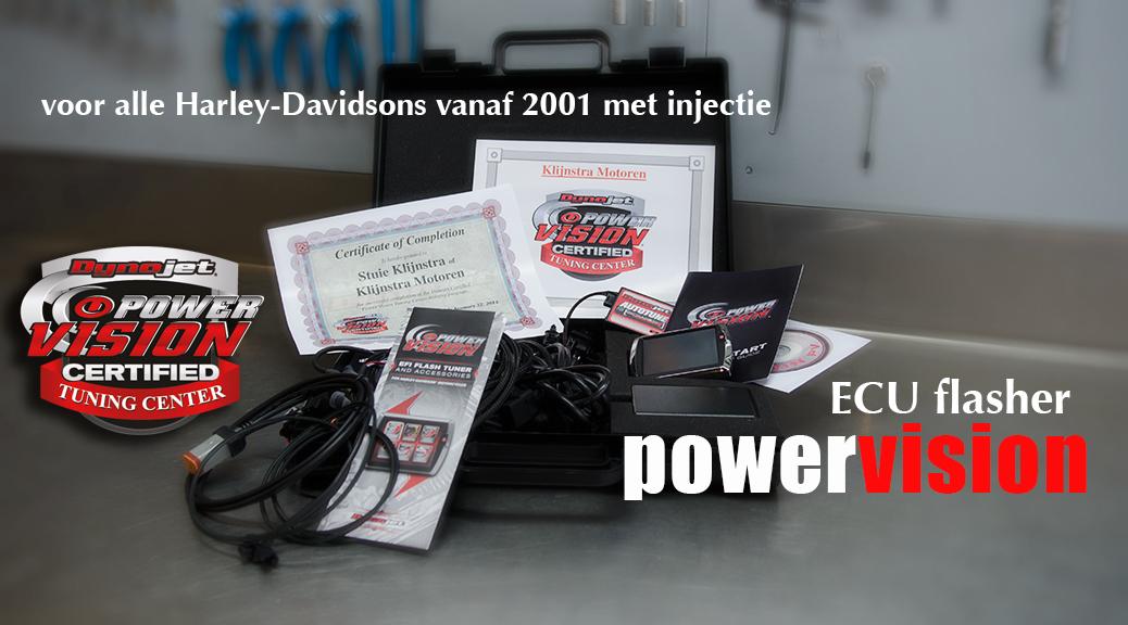 Power Vision Dealer certificaat